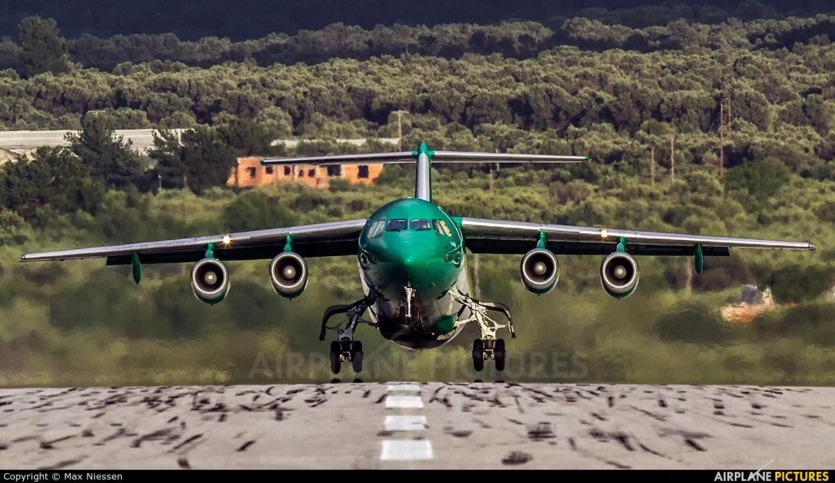 Astra Airlines SX-DIX aircraft at Samos