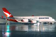 VH-OQF - QANTAS Airbus A380 aircraft