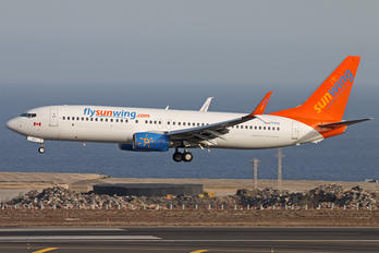 C-FFPH - Sunwing Airlines Boeing 737-800