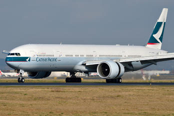 B-KQQ - Cathay Pacific Boeing 777-300ER