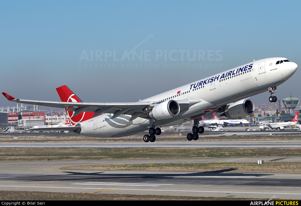 Turkish Airlines TC-JNS aircraft at Istanbul - Ataturk
