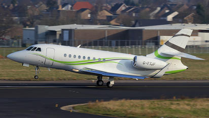 G-TTJF - TAG Aviation Dassault Falcon 2000S