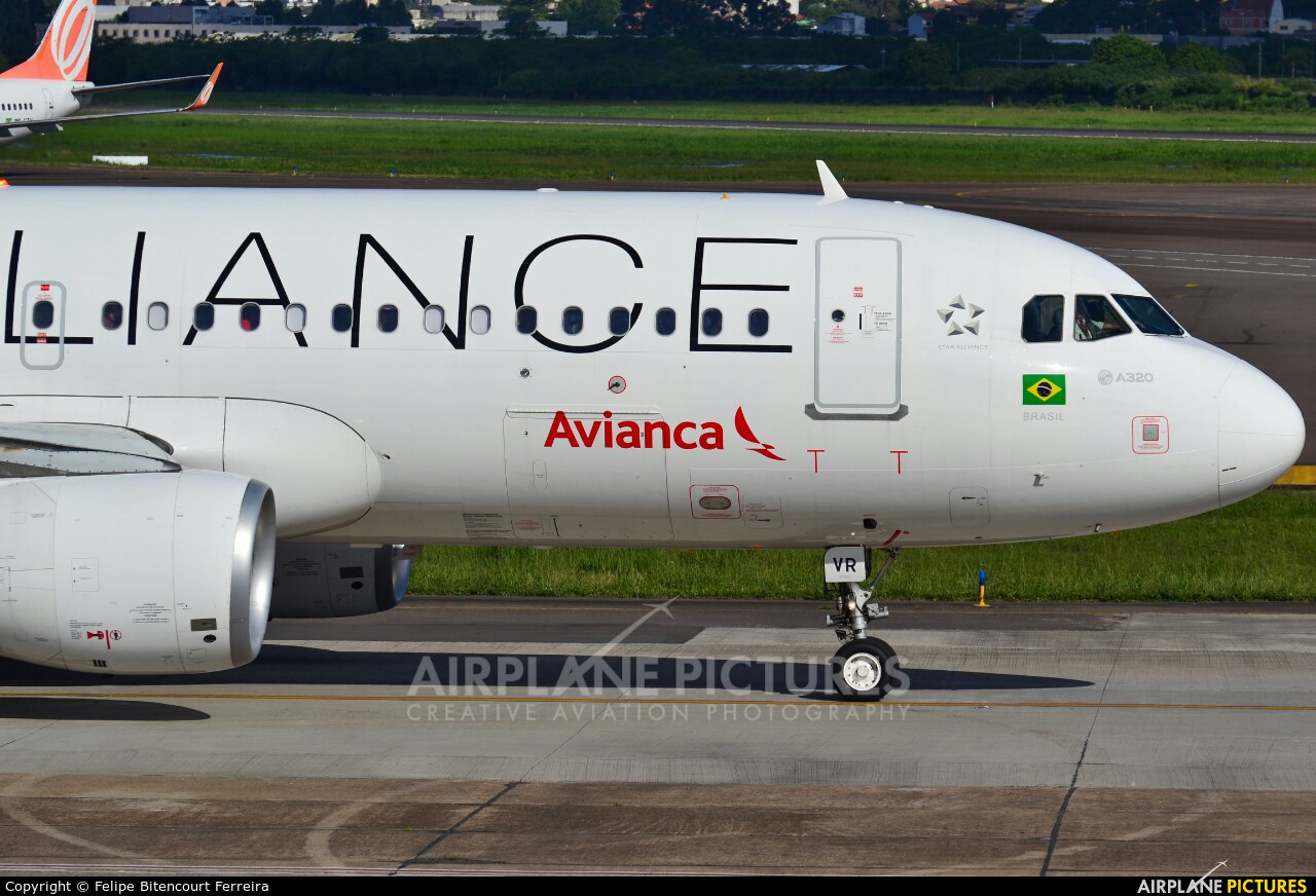 Avianca Brasil PR-AVR aircraft at Porto Alegre - Salgado Filho