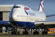 G-CIVX - British Airways Boeing 747-400 aircraft