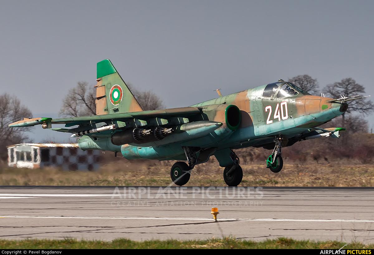 Bulgaria - Air Force 240 aircraft at Graf Ignatievo