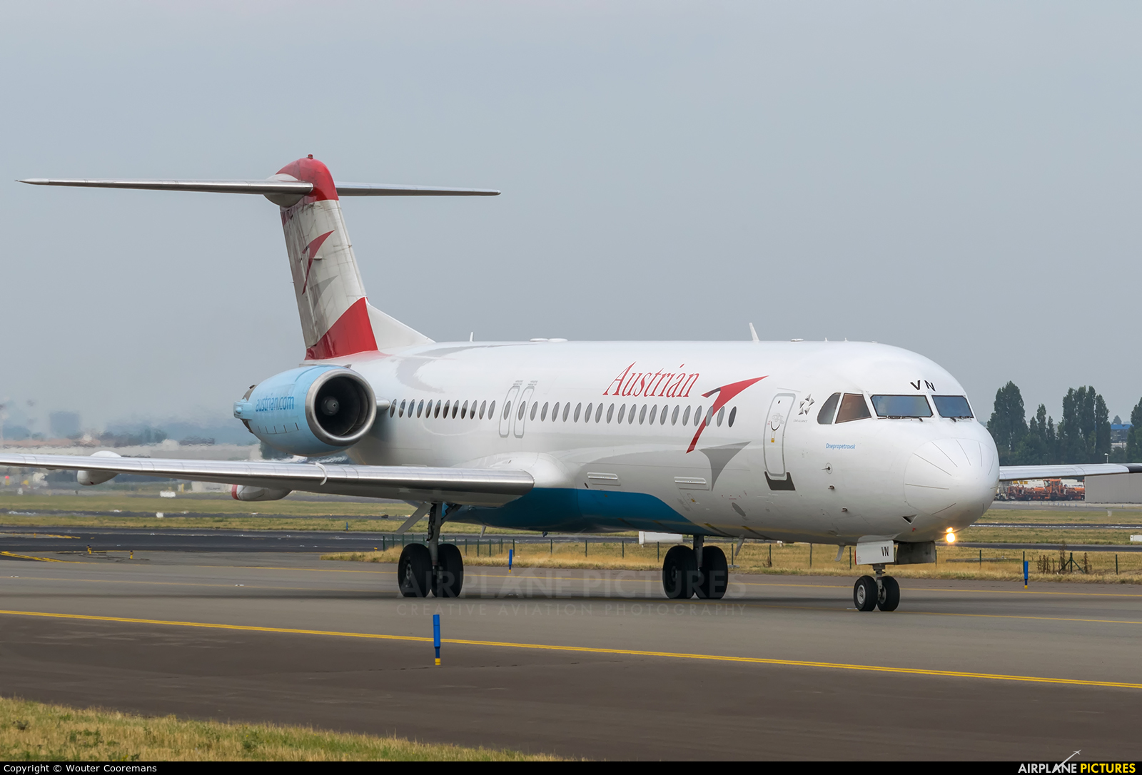 Austrian Airlines/Arrows/Tyrolean OE-LVN aircraft at Brussels - Zaventem