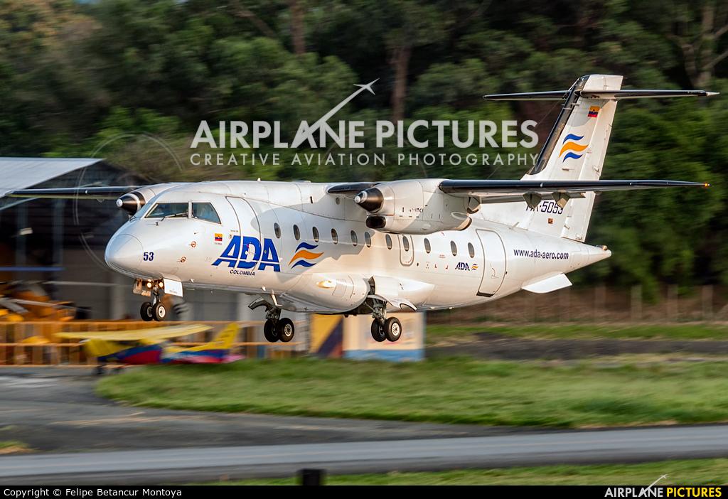 ADA Aerolinea de Antioquia HK-5053 aircraft at Medellin - Olaya Herrera