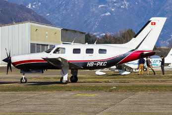 HB-PKC - Private Piper PA-46 Malibu / Mirage / Matrix