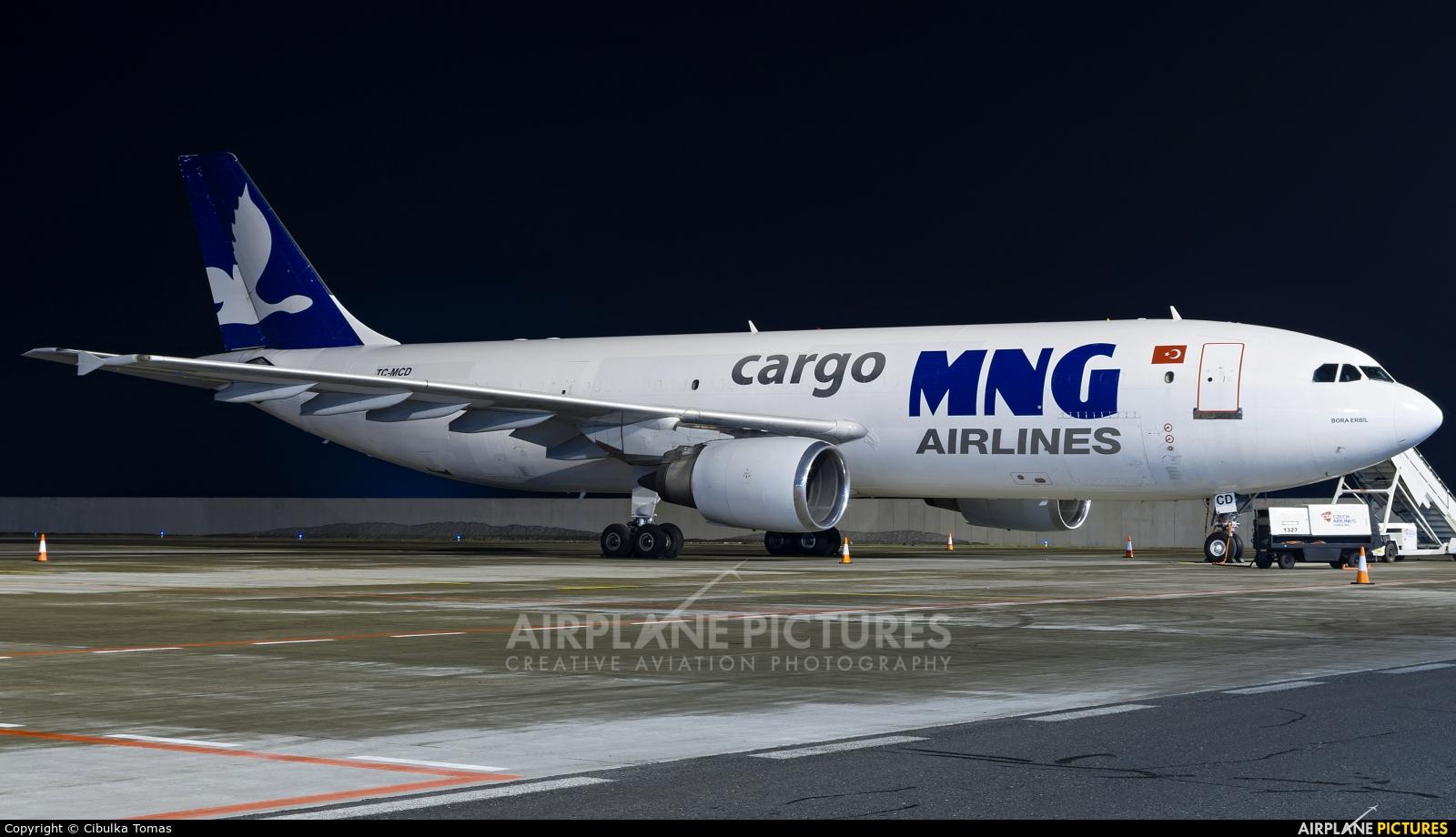 MNG Airlines TC-MCD aircraft at Prague - Václav Havel