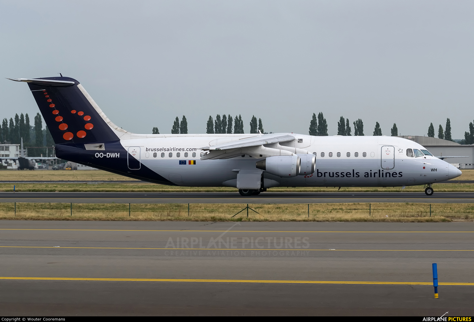 Brussels Airlines OO-DWH aircraft at Brussels - Zaventem