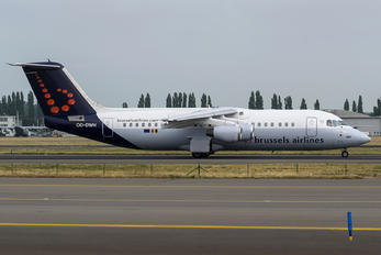 OO-DWH - Brussels Airlines British Aerospace BAe 146-300/Avro RJ100