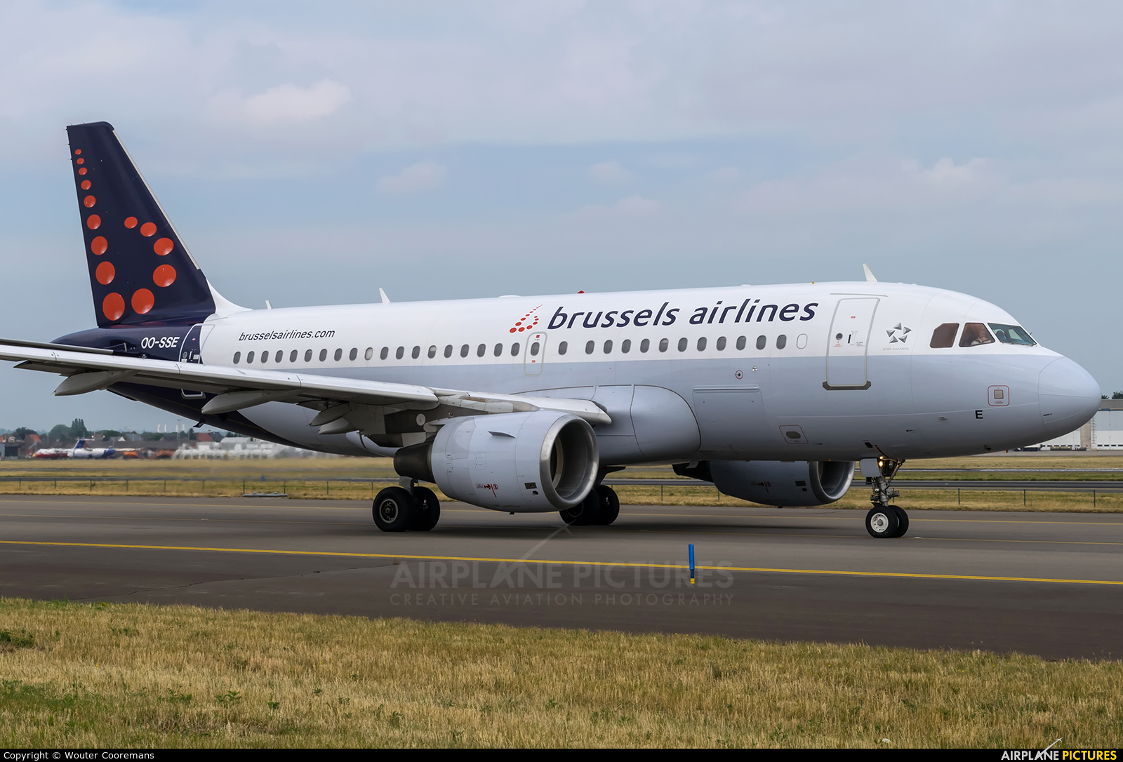 Brussels Airlines OO-SSE aircraft at Brussels - Zaventem