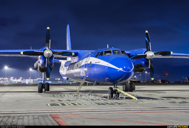 Bright Flight LZ-FLA aircraft at Sofia