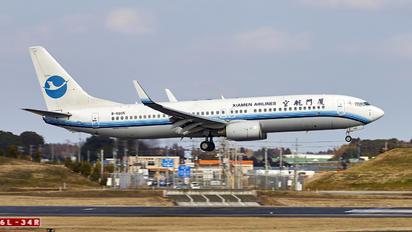 B-5605 - Xiamen Airlines Boeing 737-800