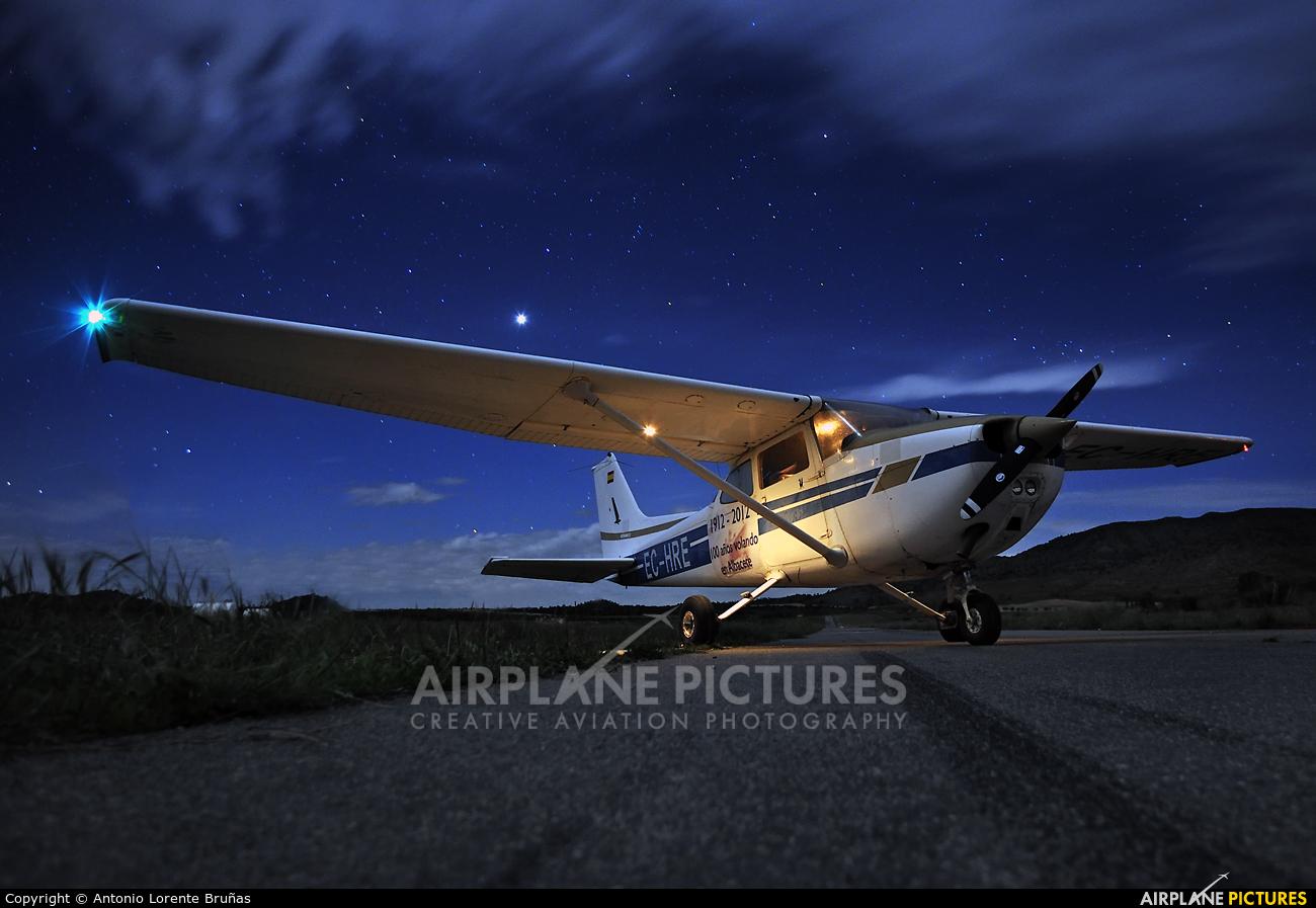 Aeroclub de Albacete EC-HRE aircraft at Ontur