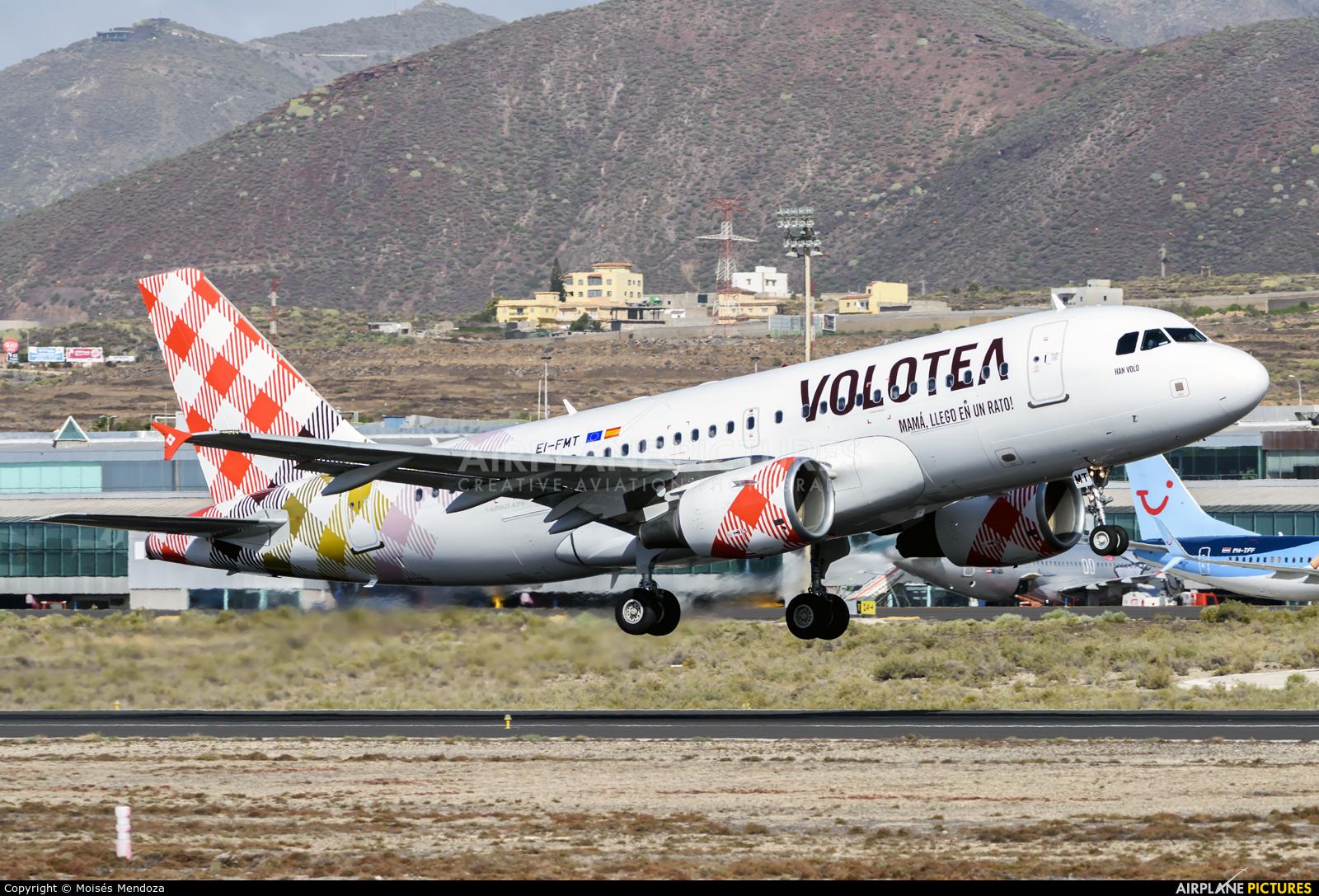 Volotea Airlines EI-FMT aircraft at Tenerife Sur - Reina Sofia