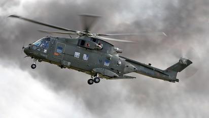 ZJ128 - Royal Navy Agusta Westland AW101 411 Merlin HC.3