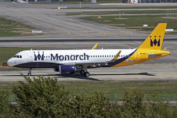 F-WWDS - Monarch Airlines Airbus A320