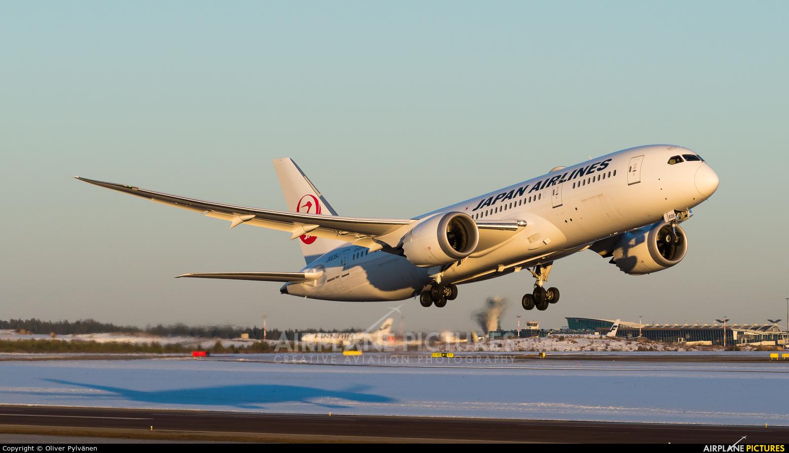JAL - Japan Airlines JA839J aircraft at Helsinki - Vantaa