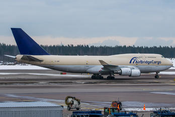 TF-AMP - Air Bridge Cargo Boeing 747-400BCF, SF, BDSF