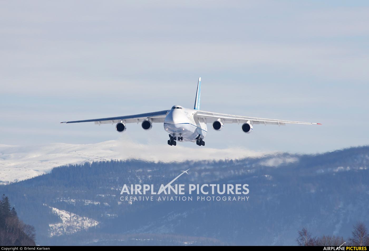 Antonov Airlines /  Design Bureau UR-82027 aircraft at Trondheim - Vaernes