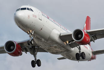 N845VA - Virgin America Airbus A320