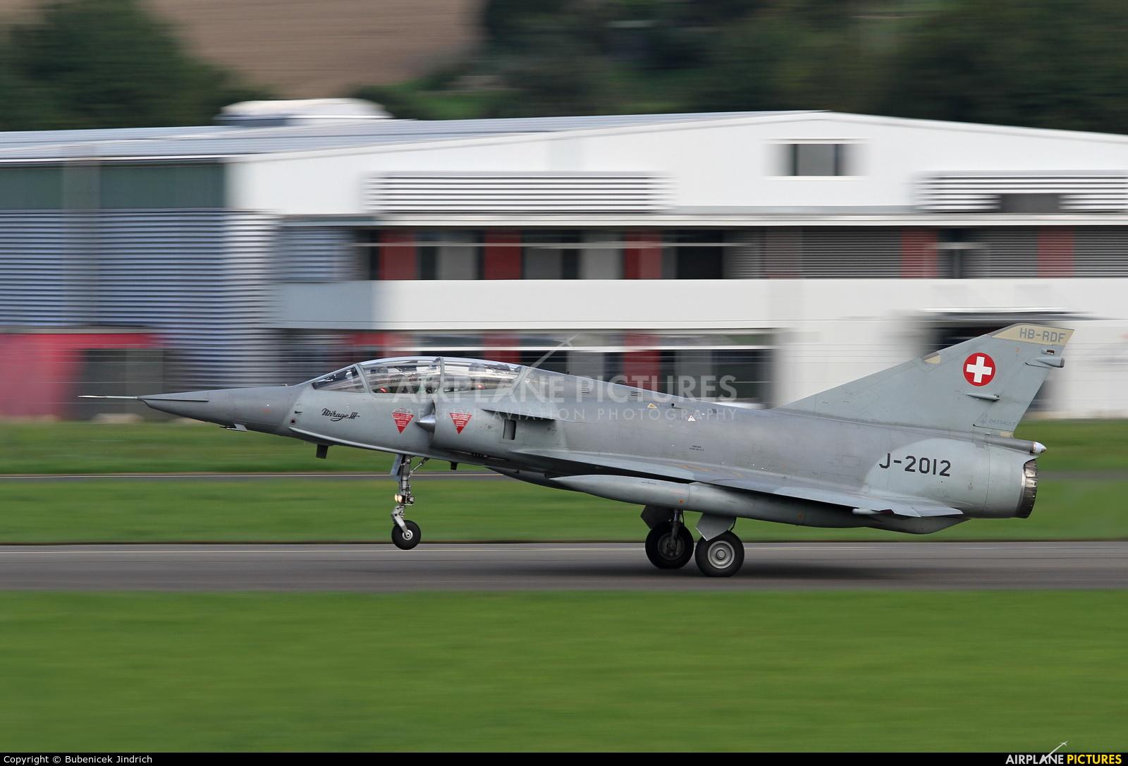 Switzerland - Air Force J-2012 aircraft at Payerne