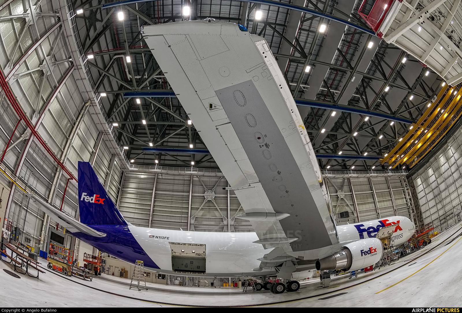 FedEx Federal Express N113FE aircraft at Memphis Intl