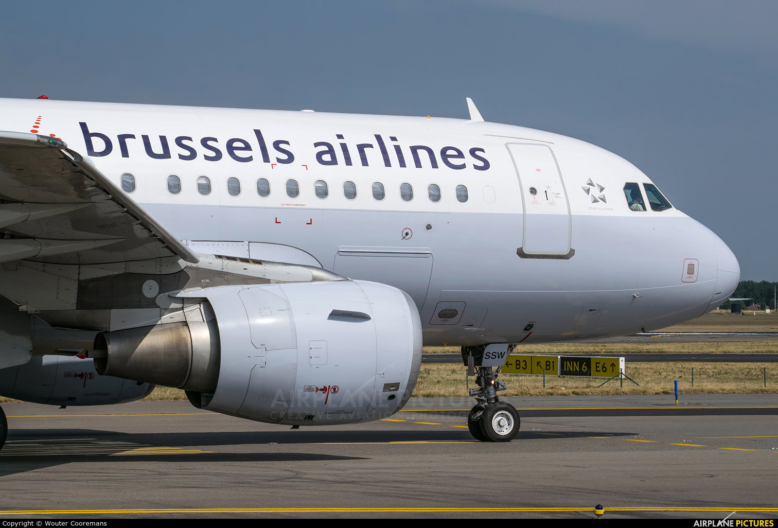 Brussels Airlines OO-SSW aircraft at Brussels - Zaventem