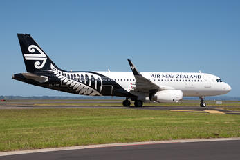ZK-OXF - Air New Zealand Airbus A320