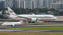 UAE Government 787-8 Dreamliner visited Sydney title=