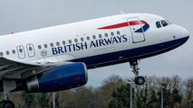 G-EUYL - British Airways Airbus A320 aircraft