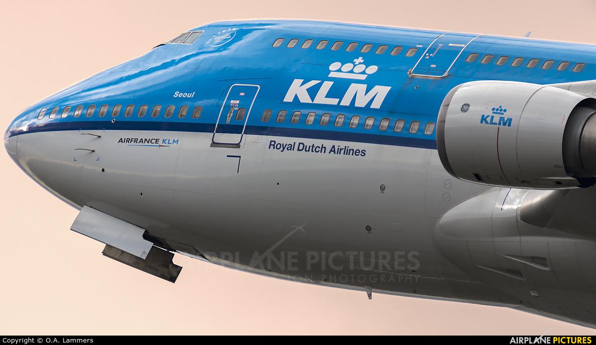 KLM PH-BFS aircraft at Amsterdam - Schiphol