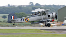 "W5856 - Royal Navy ""Historic Flight"" Fairey Swordfish II aircraft"