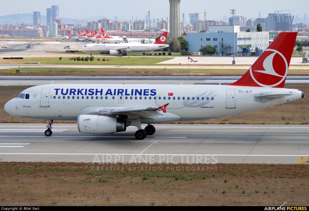 Turkish Airlines TC-JLY aircraft at Istanbul - Ataturk