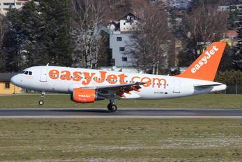 G-EZDF - easyJet Airbus A319