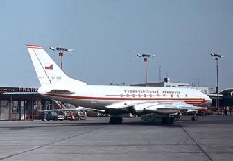 OK-UEC - CSA - Czech Airlines Tupolev Tu-124V