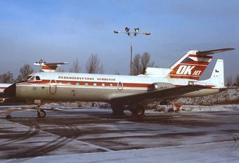OK-FEJ - CSA - Czech Airlines Yakovlev Yak-40