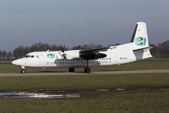 OO-VLF - Vizion Air Fokker 50