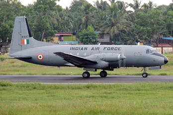 H-1177 - India - Air Force Hawker Siddeley HS.748