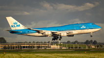 PH-BFU - KLM Boeing 747-400 aircraft