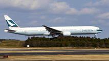 B-HNM - Cathay Pacific Boeing 777-300 aircraft