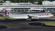 Qatar Amiri Flight A340 at Sydney title=