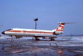 OK-AFA - CSA - Czech Airlines Tupolev Tu-134A