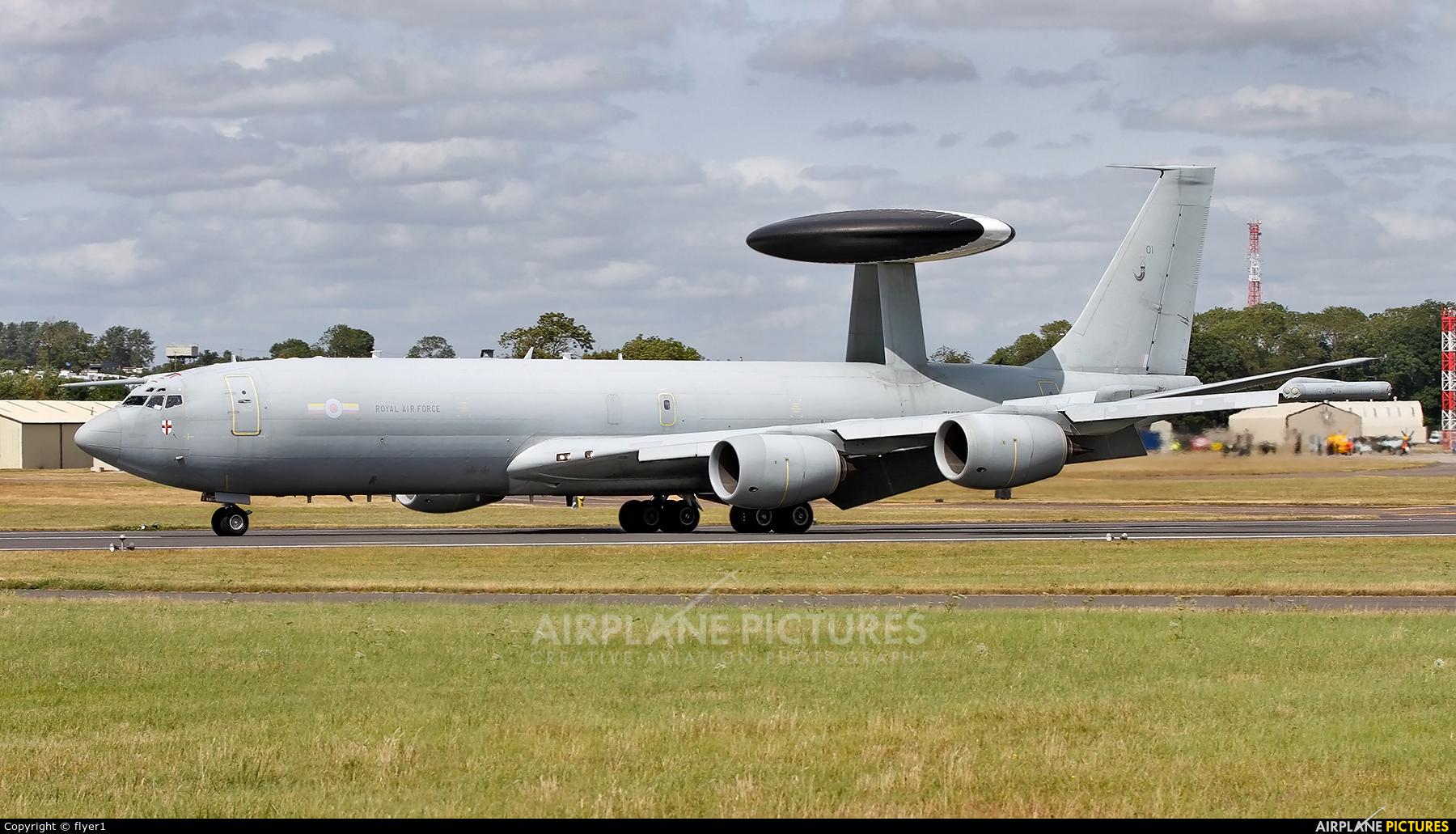 Royal Air Force ZH101 aircraft at Fairford