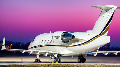 N770BC - Private Canadair CL-600 Challenger 600 series