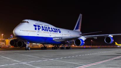 EI-XLE - Transaero Airlines Boeing 747-400