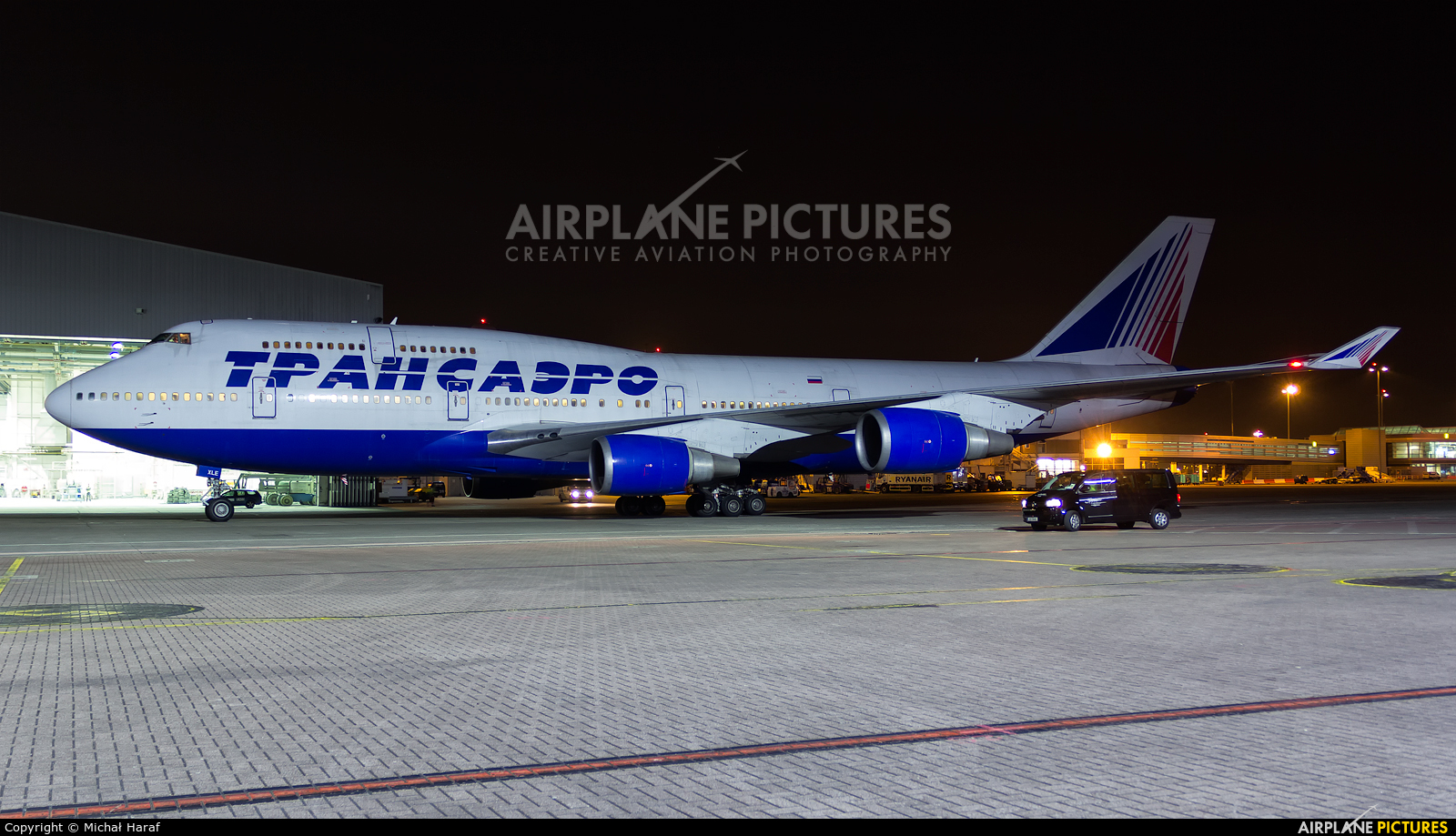 Transaero Airlines EI-XLE aircraft at Dublin