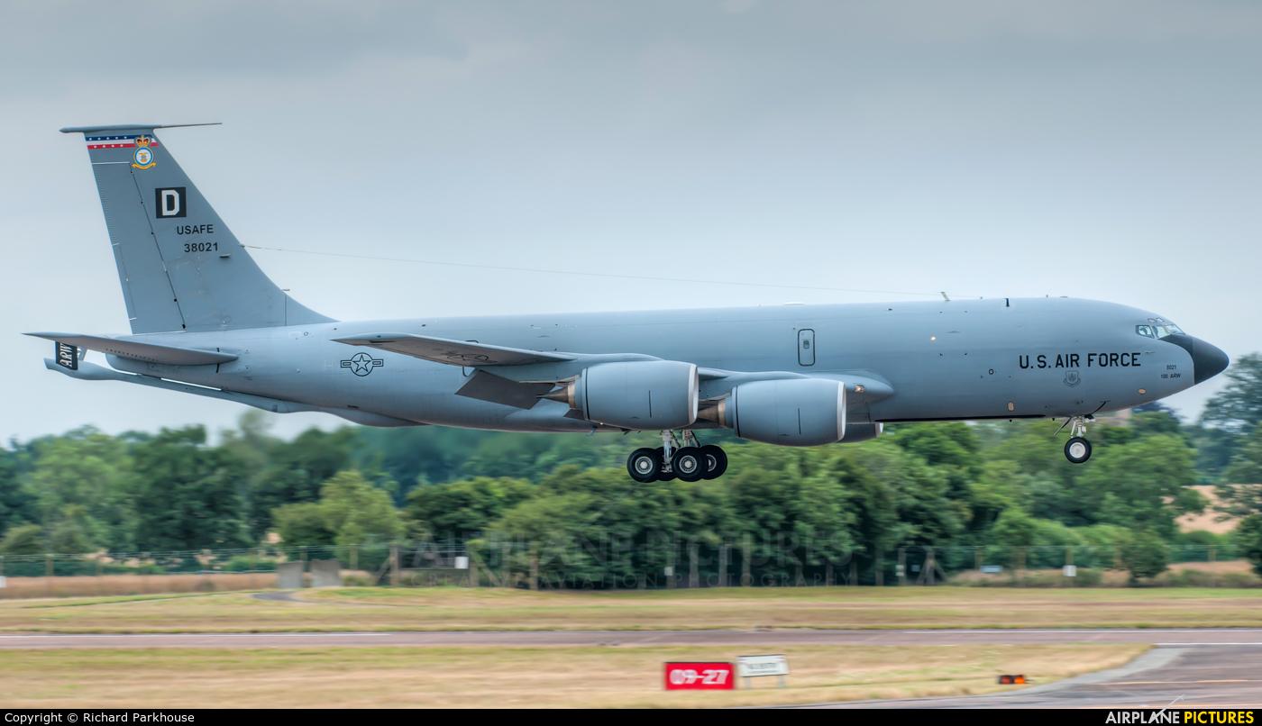 USA - Air Force 63-8021 aircraft at Fairford