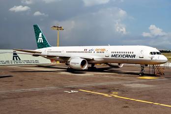 N101LF - Mexicana Boeing 757-200